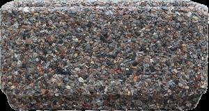 Вазон «Атлант» коричневый гранит