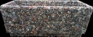 Вазон «Фрегат» коричневый гранит