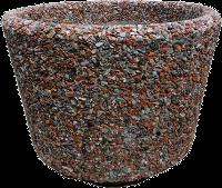 Вазон «Орион» красный гранит
