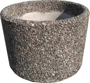 Вазон «Орион» серый гранит
