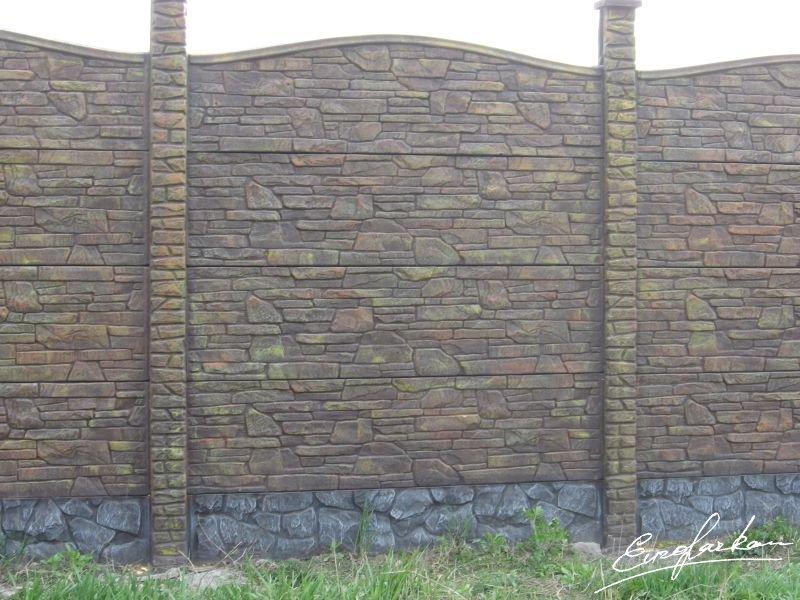 Еврозабор карпатский камень дуга