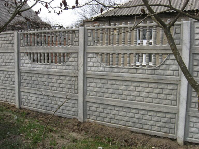Середина кирпич в рамке еврозабор Харьков