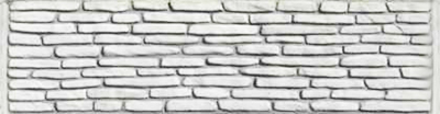 Секция еврозабора глухая №19 «Старая кладка»